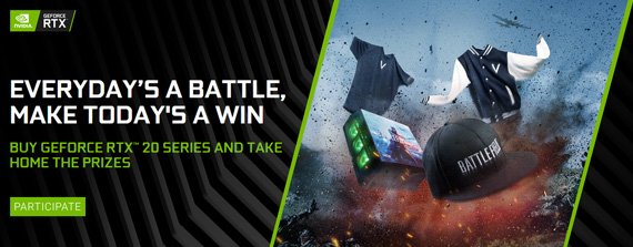 BUY GEFORCE RTX™ 20 SERIES AND TAKE HOME THE PRIZES