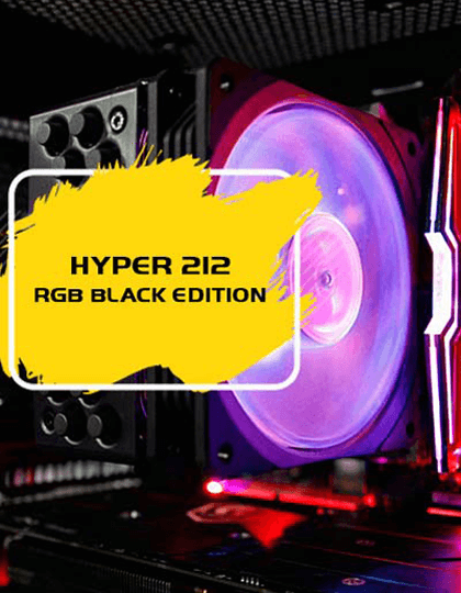 Buy Cooler Master Hyper 212 RGB Black Edition at Best Price in India