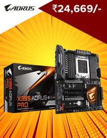 Buy Gigabyte X399 Aorus Pro at Lowest Price in India
