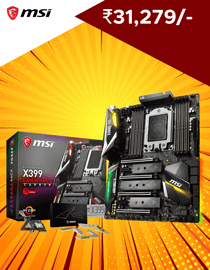 Buy Msi X399 Gaming Pro Carbon AC at Lowest Price in India