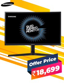 Buy Samsung LC24FG73FQWXXL at Lowest Price In India
