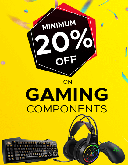 Buy Gaming Components at Lowest Price in India