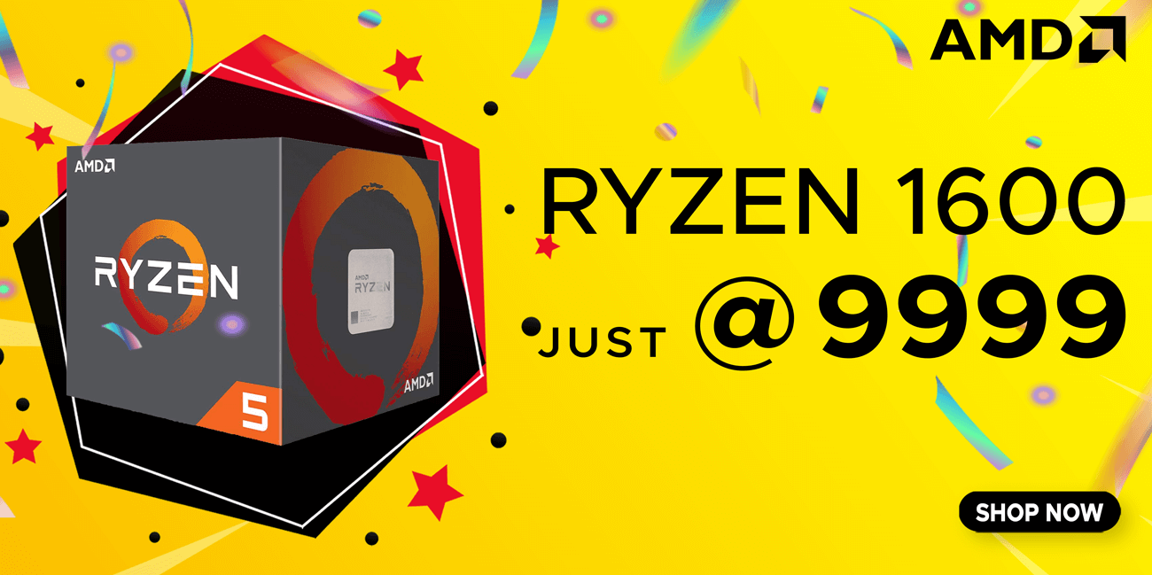 Buy AMD RYZEN 5 1600 at Lowest Price in India