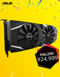 Anniversary Offer: Asus RTX 2060 DUAL ADVANCE OC at Lowest Price in India
