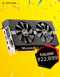 Anniversary Offer: Sapphire RX 590 Nitro+ OC at Lowest Price in India