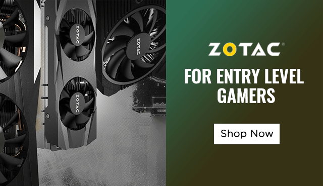 Buy Zotac Entry Level GPU at Best Price In India