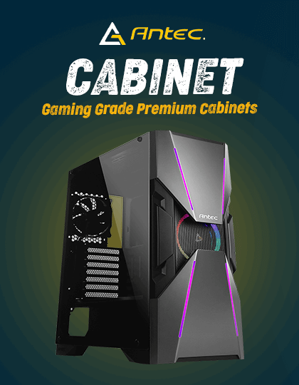 Buy Antec Cabinets at Best Price in India.