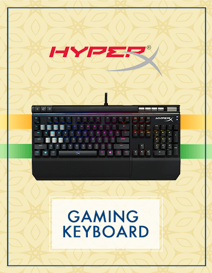 Buy Hyperx Keyboards at Best Price in India.