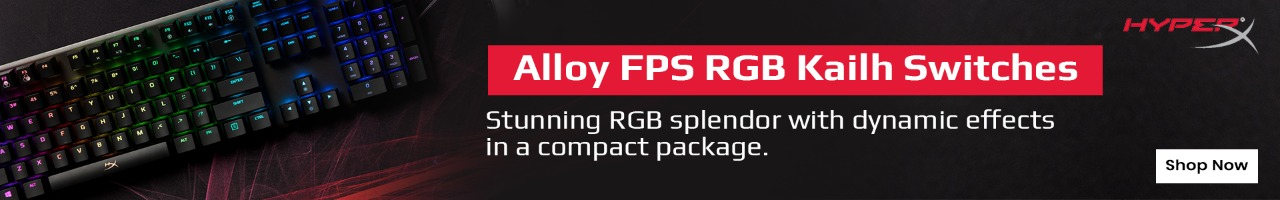 HyperX Alloy FPS RGB Gaming Keyboard