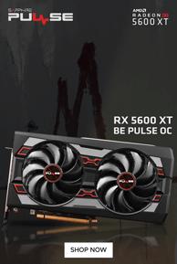 Sapphire RX 5600 XT BE PULSE OC 6GB