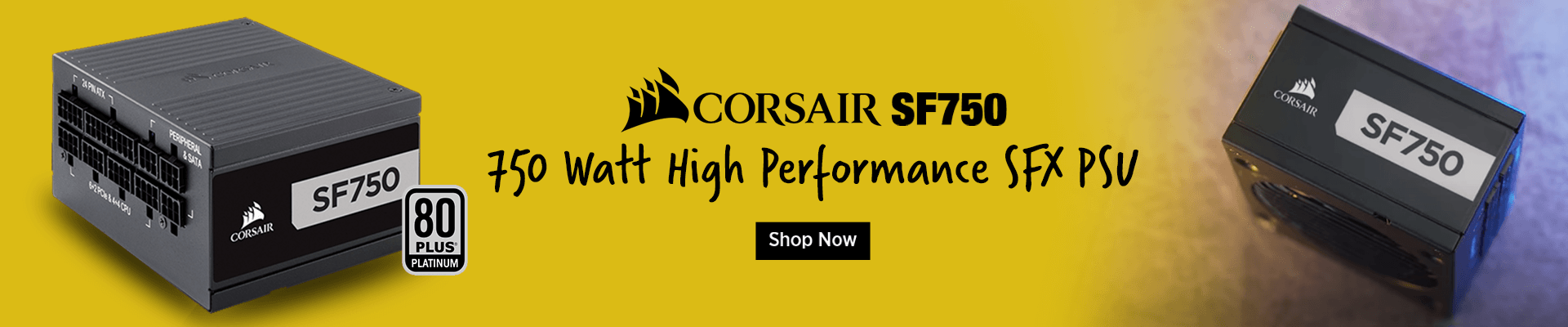 CORSAIR SF750 80 Plus Platinum Fully Modular