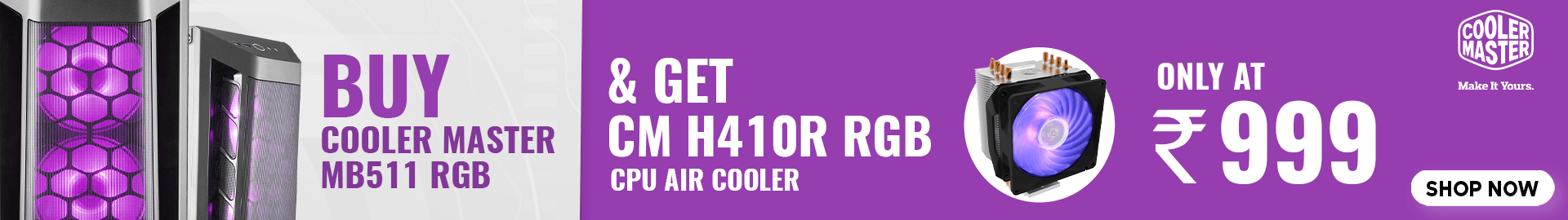 Buy Cooler Master MB511 RGB at Best Price In India
