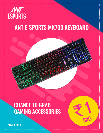 Buy Ant-Esports MK700 Keyboard at Best Price in India.