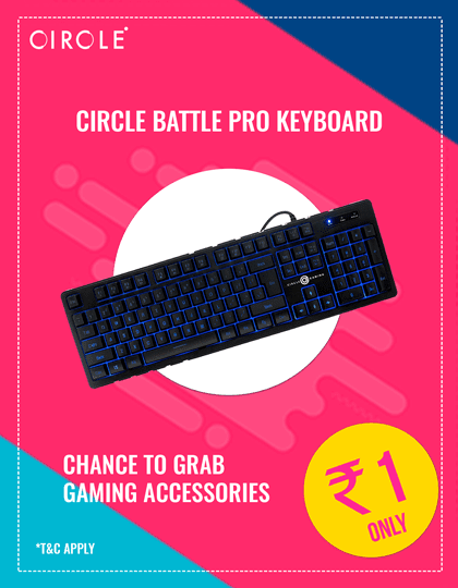 Buy Circle Battle Pro LED Keyboard at Best Price in India