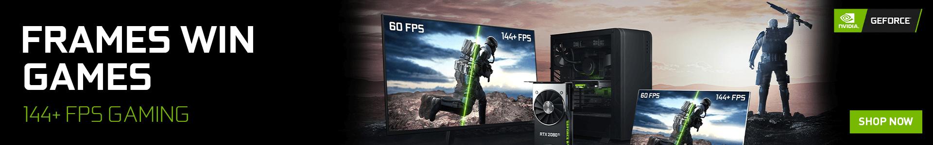 Nvidia Frame Wins Games Offer