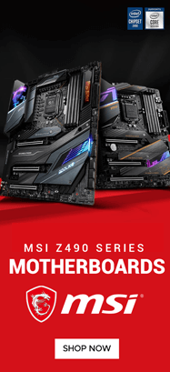 MSI Z490 Chipset Motherboard