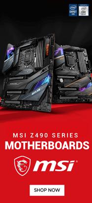 MSI Z490 Chipset Motherboard