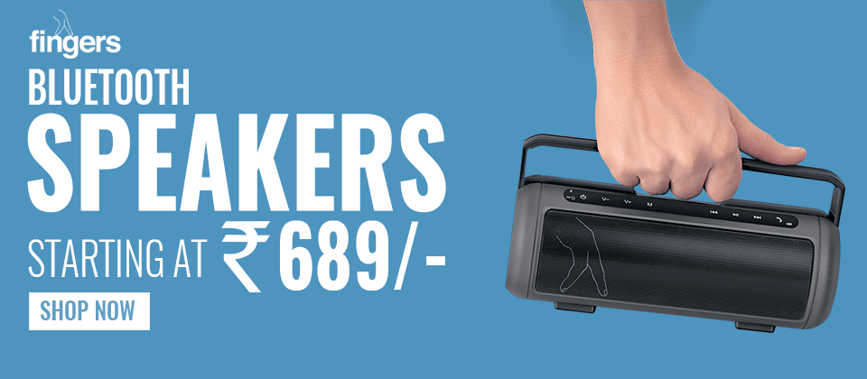 Buy Fingers Bluetooth Speaker at Best Price In India