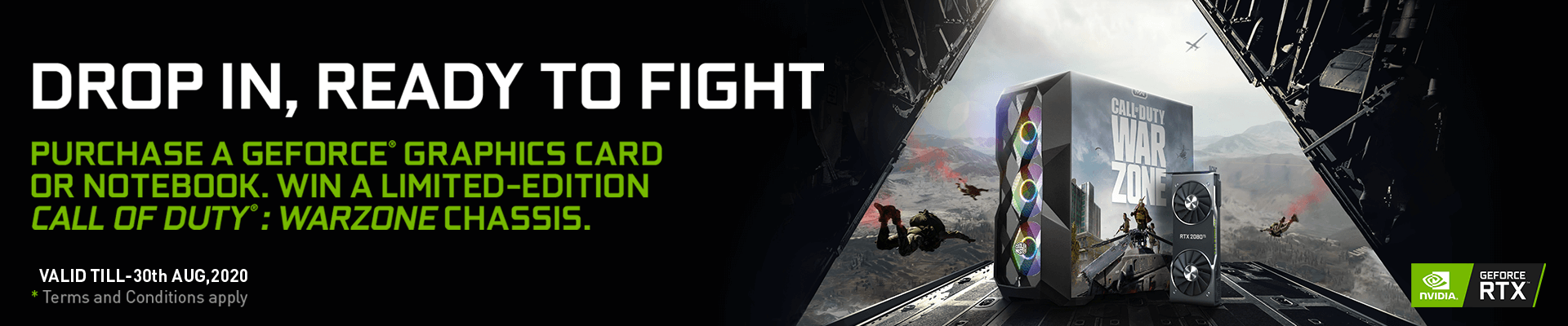 Nvidia GeForce COD:Warzone Campaign