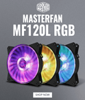 Cooler Master MasterFan MF120L RGB