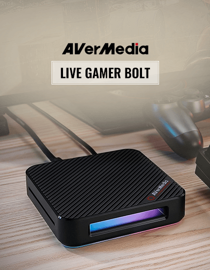 Buy AVerMedia GC555 Live Gamer Bolt Capture Card at Best Price in India