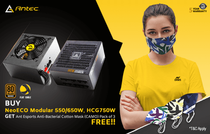 Antec Smps With Mask Offer