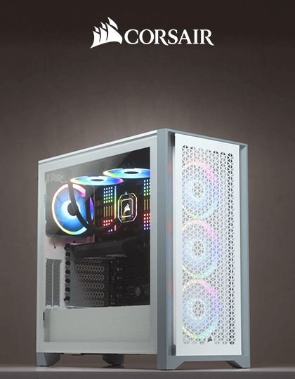 Buy Corsair 4000D Airflow White at Best Price in India