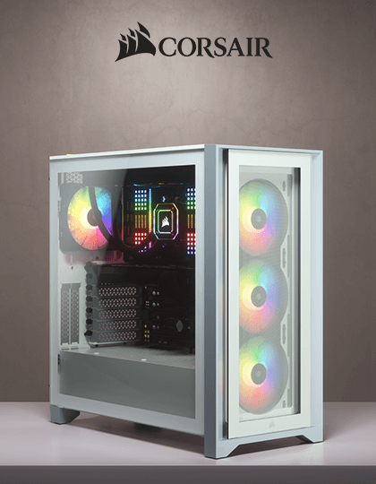 Buy Corsair 4000X RGB Cabinet White at Best Price in India
