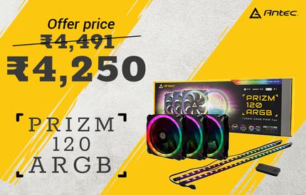 Buy Antec Prizm 120 ARGB 3+2+C at Best Price in India