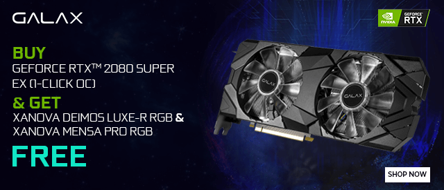 Buy Galax RTX 2080 Super EX RGB (1-Click OC) at Best Price in India