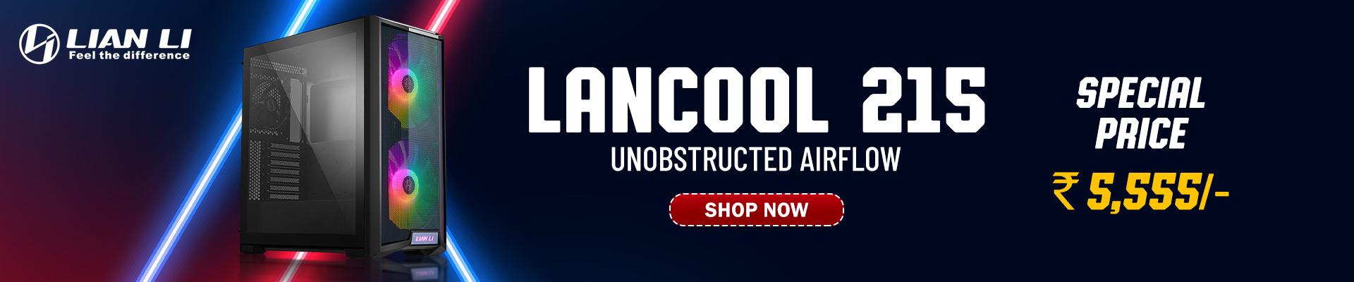 Buy Lian Li Lancool 215 ARGB Cabinet (Black)