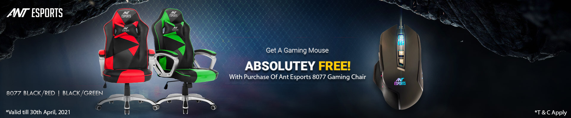Ant Esports Gaming Chair Offer