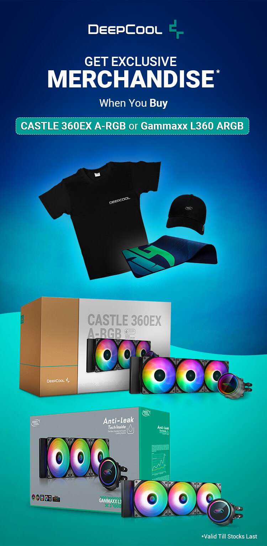 Deepcool Castle 360EX ARGB Offer