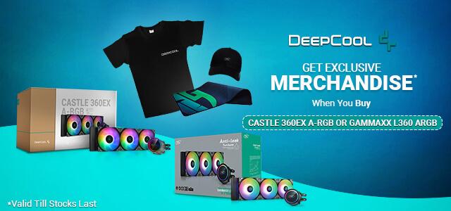 Deepcool Merchandise Offer