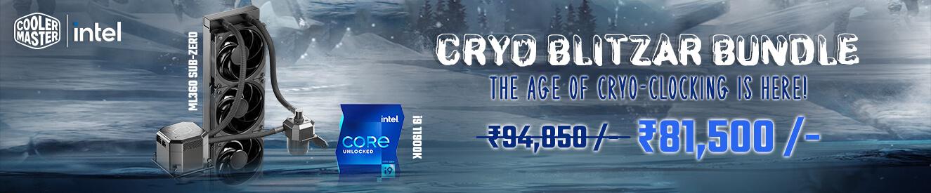 Cooler Master Cryo Blitzar Bundle