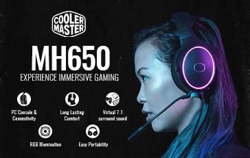 Cooler Master MH650 RGB (Black)