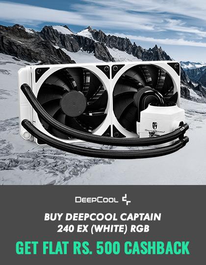 Deepcool GamerStorm Captain 240 EX White RGB