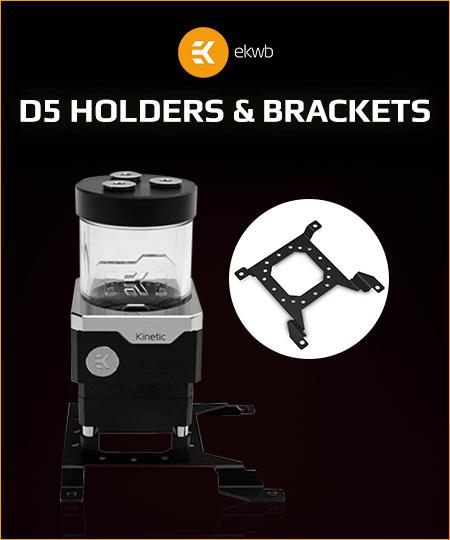 EK D5 Holders & Brackets