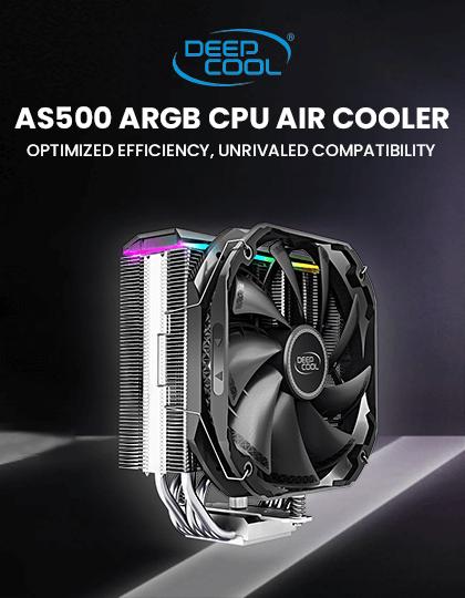 Buy Deepcool AS500 ARGB CPU Air Cooler at Best Price In India