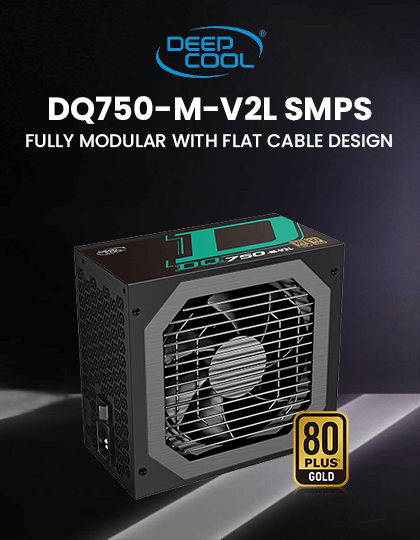 Buy Deepcool DQ750-M-V2L 80 Plus Gold SMPS at Best Price in India
