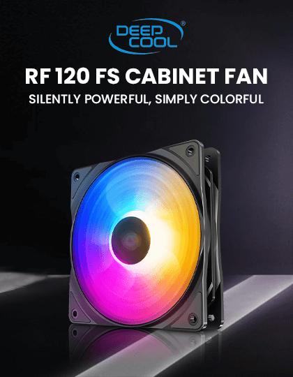Buy Deepcool RF120 FS 120mm Cabinet Fan (Single Pack) at Best Price in India