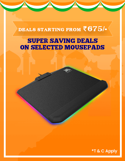 Mousepad Offers at Best Price In India