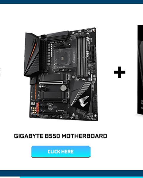 Gigabyte B550 Motherboard