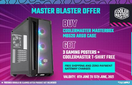 Cooler Master MasterBox MB520 ARGB (Black)
