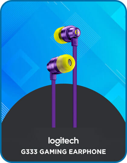 Logitech G333 Gaming Earphone (Purple) at Best Price in India
