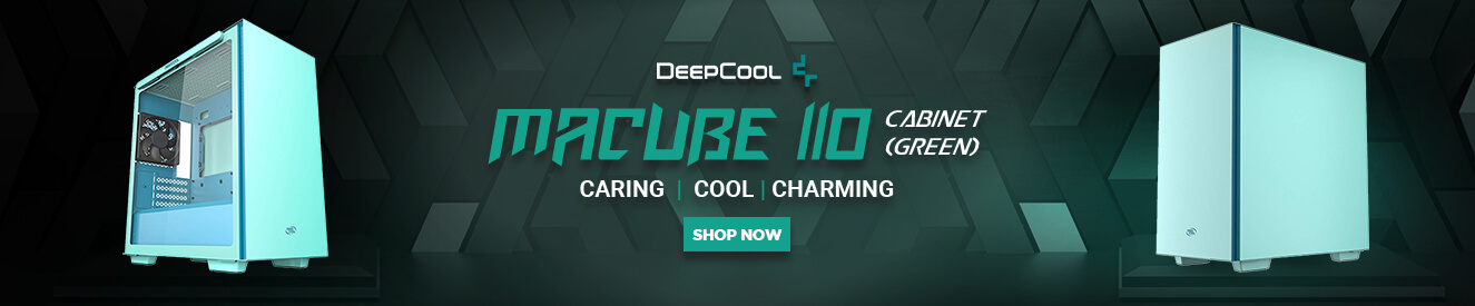 DeepCool Macube 110 Cabinet (Green)