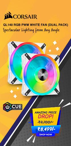 Corsair QL140 RGB (Dual Pack)