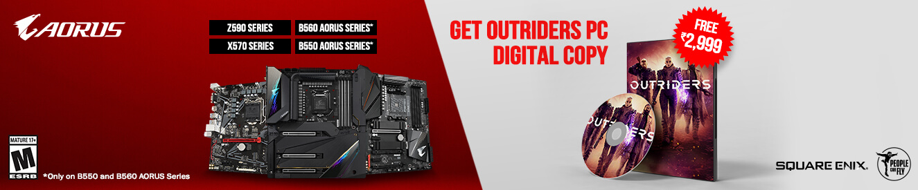 Play Outriders With Gigabyte Motherboard