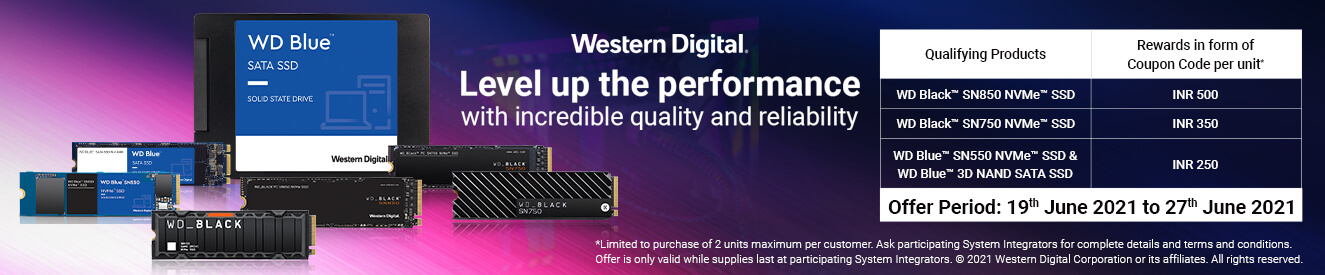 Western Digital Extravaganza Offer