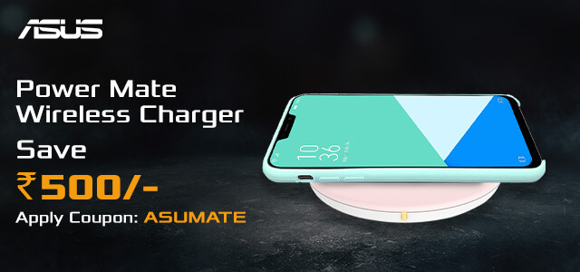 ASUS Power Mate Wireless Charger (White)
